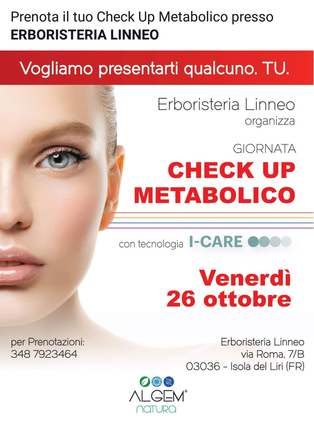 Giornata Check Up Metabolico